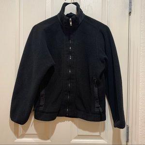 Patagonia Synchilla Fleece Black Jacket Small Zip